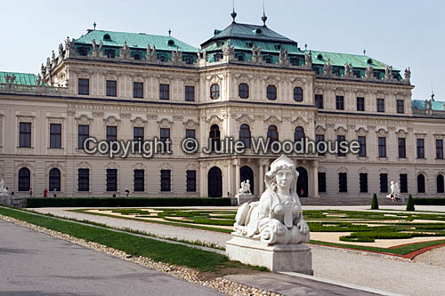 photo showing Oberes Belvedere Vienna