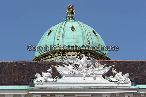 photo showing Alte Hofburg Detail, Vienna