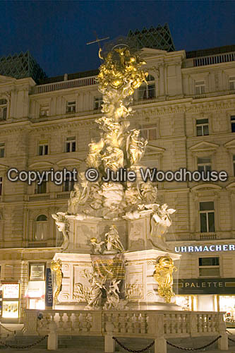 photo showing Pest Column, Graben, Vienna