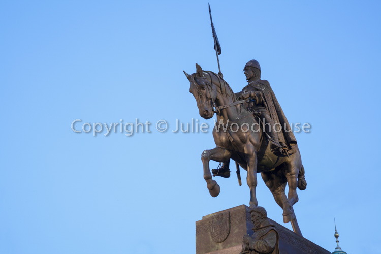 photo showing Statue Of Saint Wenceslas, Wenceslas Square, Prague, Czech Republic
