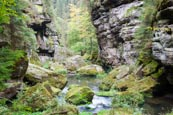 Thumbnail image of Edmund Gorge on the Kamenice River, Hrensko, Usti nad Labem, Czech Republic