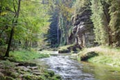 Thumbnail image of Wild Gorge, Hrensko, Usti nad Labem, Czech Republic