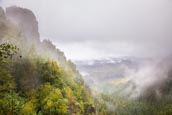 Thumbnail image of misty view in the Bohemian Switzerland National Park Ceske Svycarsko near Mezni Louka, Usti nad Labe