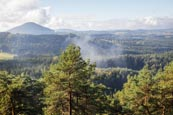 Thumbnail image of view from Mala Pravcicka brana over Bohemian Switzerland National Park Ceske Svycarsko, Usti nad Lab
