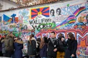 Thumbnail image of John Lennon Wall, Prague, Czech Republic