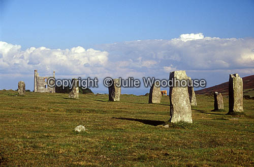 photo showing The Hurlers, Bodmin Moor, Cornwall