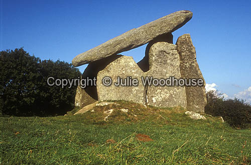photo showing Trethevy Quoit,  Cornwall