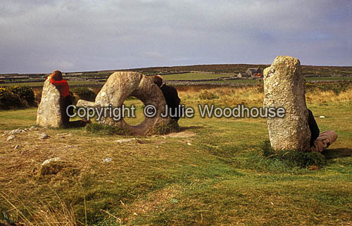 photo showing Men-an-Tol, Cornwall