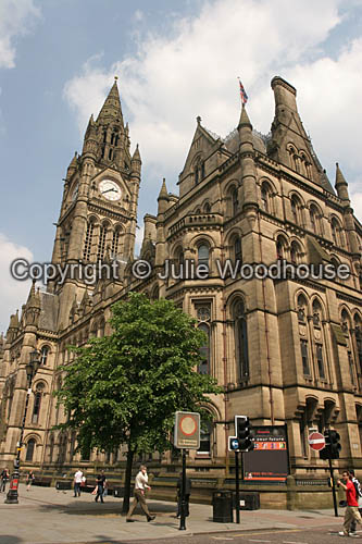 photo showing Town Hall, Manchester