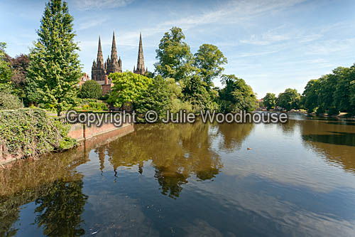photo showing Minster Pool, Lichfield  Staffordshire