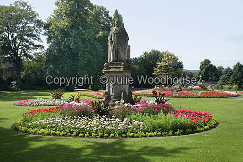 photo showing Beacon Park And Edward VII Statue, Lichfield  Staffordshire