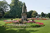 Beacon Park And Edward VII Statue, Lichfield  Staffordshire