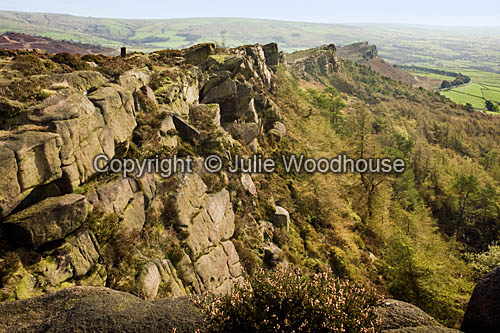 photo showing The Roaches  Staffordshire Moorlands