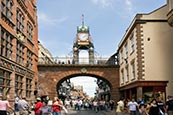 Thumbnail image of Eastgate Street & Clock, Chester
