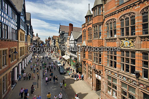 photo showing Eastgate Street, Chester