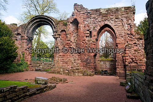 photo showing St Johns Church Ruins, Chester
