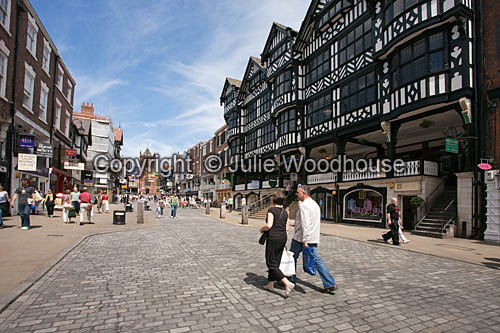 photo showing Bridge Street, Chester,  Cheshire