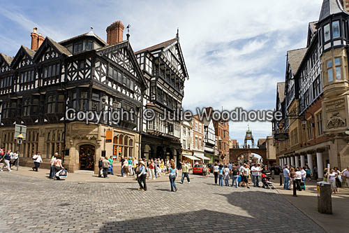 photo showing Eastgate Street, Chester, Cheshire