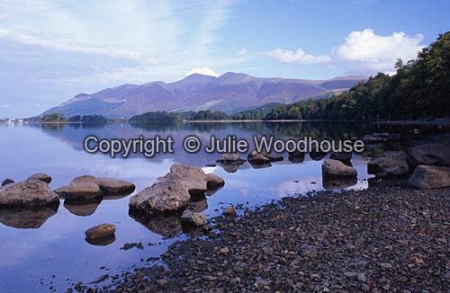 photo showing Derwent Water, Lake District,  Cumbria