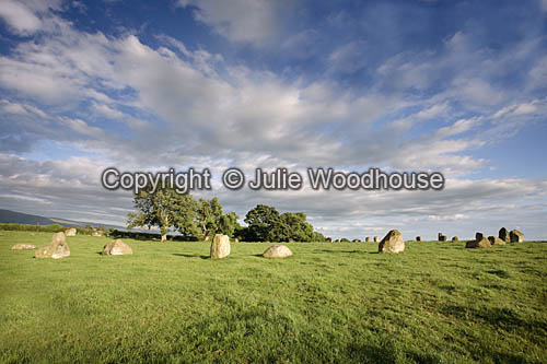 photo showing Long Meg And Her Daughters Stone Circle, Cumbria