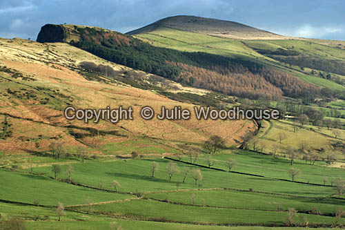 photo showing View Towards Hollins Cross, Near Castleton, Derbyshire