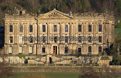 photo showing Chatsworth House, Derbyshire