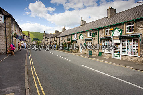 photo showing Castleton Village, Derbyshire