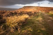 Thumbnail image of Curbar Edge from Baslow Edge, Derbyshire, England