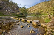 Thumbnail image of Dovedale - Stepping Stones, near Ashbourne, Derbyshire