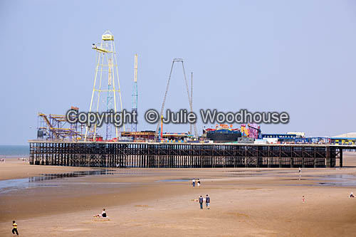 photo showing Blackpool South Pier