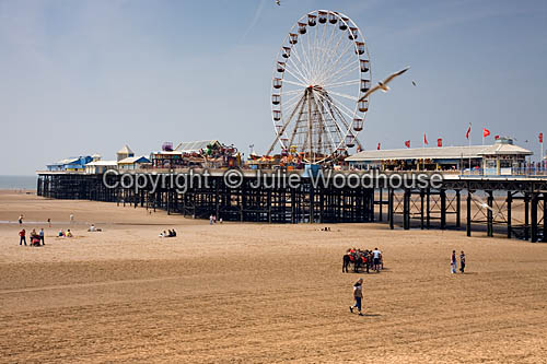 photo showing Blackpool Central Pier