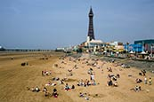 Blackpool Beach & Tower