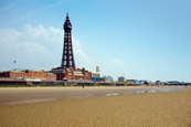 Thumbnail image of Blackpool Beach & Tower