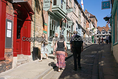 photo showing Steep Hill, Lincoln