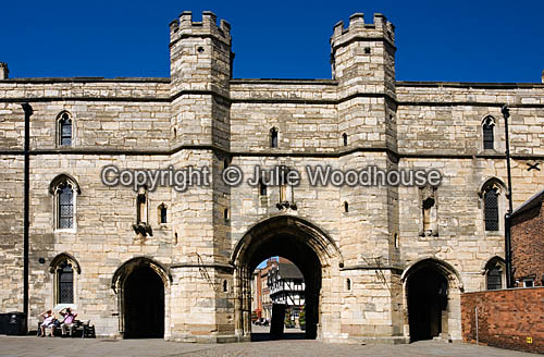 photo showing Exchequer Gate, Lincoln