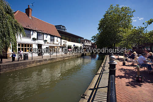 photo showing Waterside With River Witham And Caf