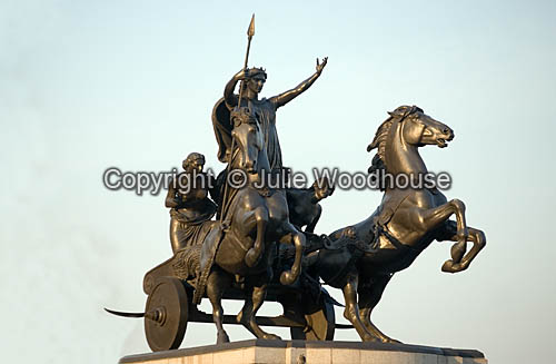 photo showing Boudicca Statue, London
