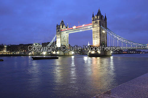 photo showing Tower Bridge, London