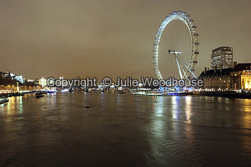 photo showing River Thames And The London Eye, London