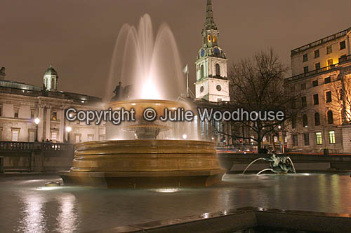 photo showing Trafalger Square And St Martin In The Fields, London