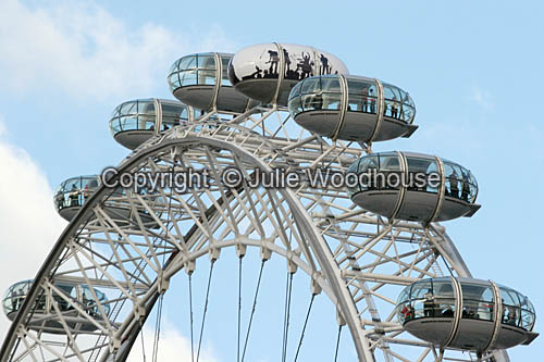 photo showing London Eye