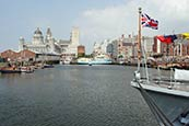 Thumbnail image of Royal Liver Building, Port of Liverpool Building and Canning Dock, Liverpool