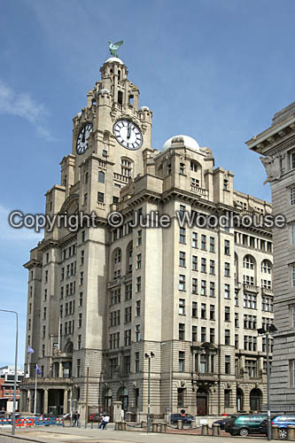 photo showing Liver Building, Liverpool