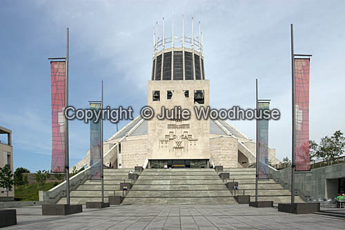 photo showing Metropolitan Cathedral Of Christ The King, Liverpool