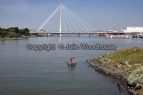 photo showing Marine Lake And Bridge, Southport