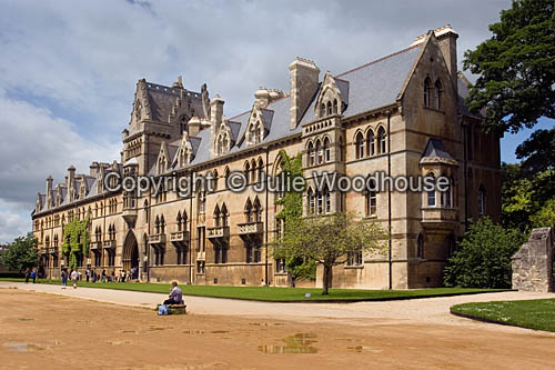 photo showing Christchurch College, Oxford