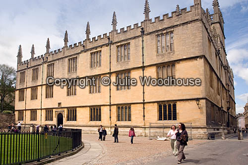 photo showing Bodleian Library, Oxford