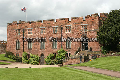 photo showing Shrewsbury Castle