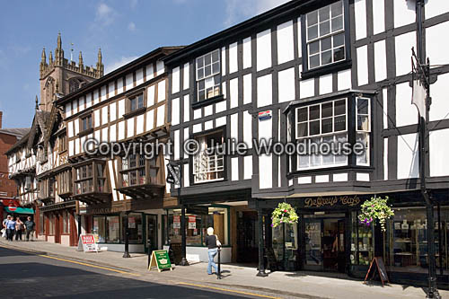 photo showing Broad Street, Ludlow, Shropshire