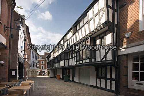 photo showing Butcher Row, Shrewsbury, Shropshire